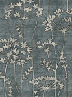 NEW Delicate Floral Pattered Rug Grey