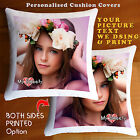 Personalised Photo Cushion Collage Cushion Cover Both Side Printed- Custom Print