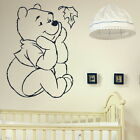 Whinnie The Pooh Nursery Wall Transfer / Bedroom Art / Nursery Wall Sticker bn61