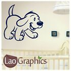 Cilfford Dog Wall Stickers / Large Interior Decor / Dog Wall Transfers art do6