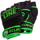 Green Punch Line - Genuine LeatherMMA UFC Grappling Gloves by  Eclipse Gear