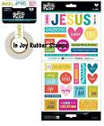 "Bella Blvd Illustrated Faith BASICS 5x7"" Stickers, Washi Tape"