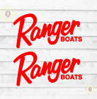 2X Ranger Boats Logo Decal Vinyl Sticker