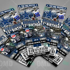 Dallas Cowboys Football Ticket Style Sports Party Invitations
