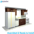 Assembled All Maple Wood 12 Foot Kitchen Cabinets 12 Colors @ buycabinetdirect