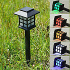 Solar Power LED Yard Lawn Lights Party Path Outdoor Spotlight Garden Lamp