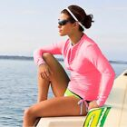 Ladies Scuba&Snorkeling Wetsuit Rash Guard Jump Surfing Surf Shirt Clothing Hot