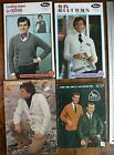 Patterned Styles Mens Mixed Knitting Patons 8 Ply - MultiList 4 Books M7