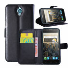 Flip Card Wallet PU Leather Case Stand Cover For Alcatel One Touch Idol OT6030