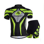 Conquer Road MTB Men's Short Sleeve Cycling Jersey Ride  Pursuit Short Suits Hot