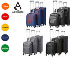 Aerolite Premium 4 Wheel Spinner Ultra Lightweight Suitcase Luggage Sets Cabin