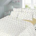 BRUSHED COTTON FLANNELETTE QUILT DUVET COVER BED SET,Single, Double,King