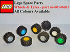Lego Spares_Wheels & Tyres notched axle (p/n6014b/6015) choose your quantity