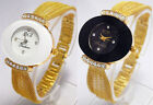 GORGEOUS GOLDEN NET STRAP LADIES WRIST WATCH