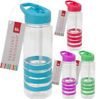 FLIP STRAW WATER DRINKS BOTTLE SPORT HYDRATION CYCLING HIKING CAMPING TRITAN
