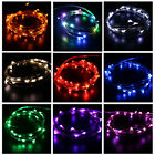 2m 20 Led String Fairy Christmas Party Light Battery Operated Outdoor Waterproof
