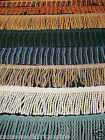 BRITISH TRIMMINGS CHUNKY BULLION UPHOLSTERY TASSEL FRINGE TRIMMING
