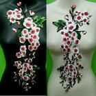 Plum Flower Rose Collar Sew Patch Cute Applique Badge Embroidered Bust Dress. Th