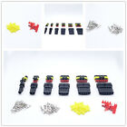 1~6 Pins Way Super seal AMP Waterproof Automotive Male/Female Connector Plugs