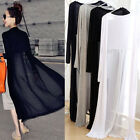NEW Women Summer Jacket Chiffon Cardigan Long Top Blouse Beach Cover Up Dress