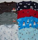 CARTER'S BABY BOY BLANKET SLEEPER FOOTED MICRO FLEECE PAJAMAS JAMMIES 3M 6M 9M