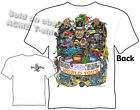 Rat Fink Tee Shirts Ed Roth World Tour Big Daddy Roth T Shirts Sz M L XL 2XL 3XL