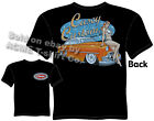 1953 Chevy T Shirt 53 Chevrolet Tee Chopped Custom Car Apparel Pin Up Girl Wear
