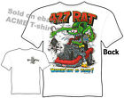 Rat Fink T-shirt 1967 Corvette 67 Stingray 427 Big Daddy Tee, Sz M L XL 2XL 3XL