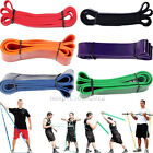 Heavy Duty Resistance Band Loop Power Gym Fitness Exercise Yoga Workout Pilates