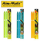 Aim Mate Golf Alignment Aid - alignment sticks x 2 that are easily portable,