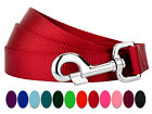 Country Brook Design® 4ft By 1 Inch Heavyduty Doublehandle Nylon Leash