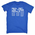 Real Men Use Three Pedals T-SHIRT Race Car Fast Track Speed Racer fathers day