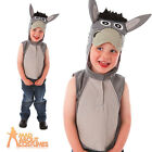 Child Little Donkey Costume Boys Girls Book Week Day Fancy Dress Outfit New