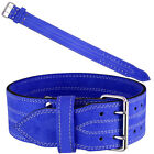 BILLZAN Nubuck Leather Weight Lifting PowerLifting Belt Back Support GYM Colors
