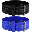 BILLZAN Nubuck Leather Weight Lifting Power Lifting Belt Back Support GYM Colors