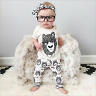 Cute Baby Girl Baby Boy 0-24 Months Clothes Outfit - Top + Trousers