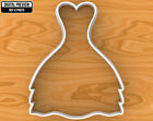 Wedding Dress Cookie Cutter, Selectable sizes, #6