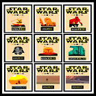 STAR WARS Action Movie Minimal Posters Vintage Wall Art Print * A3 /A4 Size #21 £2.99 GBP on eBay