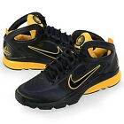 Nike ZOOM HUARACHE 2 LAF Shoes Black/Yellow 469850-007 Sz 9