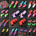 40-120Pcs Mix Color Fashion High Heel Shoes Cloth Accessories For Barbie Doll