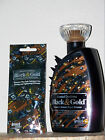 DEVOTED CREATIONS BLACK & AND GOLD BRONZER TANNING LOTION U-