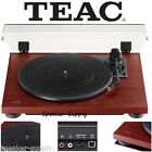 Teac TN-100 Turntable Vinyl Record Player w Preamp USB Digital Output Cherry