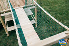 Rope bridge With or Without Timbers NEW netting, climbing frame, Cargo net
