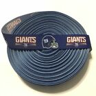 "7/8"" NY New York Giants Blue Grosgrain Ribbon by the Yard (USA SELLER) $4.85 USD on eBay"