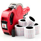 Price Tag Gun Retail Pricing Labeller Kit + 11 Label Rolls Stickers Spare Ink