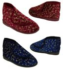 Ladies Boot Slippers Womens Comfortable Elderly Ortho Slippers Size 3 4 5 6 7 8