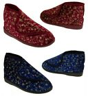 Ladies Boot Slippers Womens Comfortable Elderly Ortho Slippers Sizes 3 4 5 6 7 8