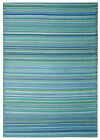 NEW Cancun Aqua Outdoor Rug