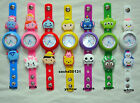 TSUM TSUM JIBBITZ BAND WATCH  & A SELECTION OF 8 SHOE CHARMS, BRAND NEW