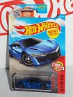 Hot Wheels New For 2016 Target Spring Card Then And Now #108 '17 Acura NSX Blue